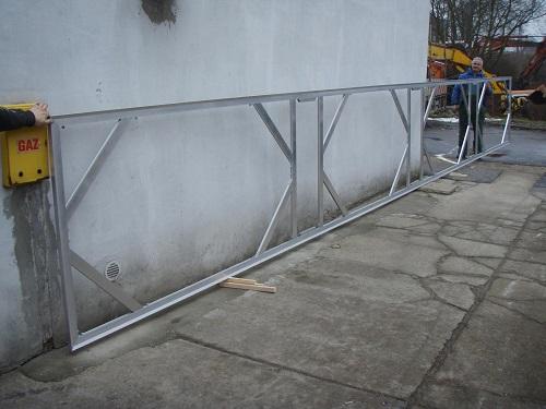 Aluminium Keilrahmen 10,40m x 1,30m